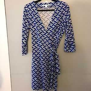 EEUC Diane von Furstenberg DVF Julian Wrap Dress